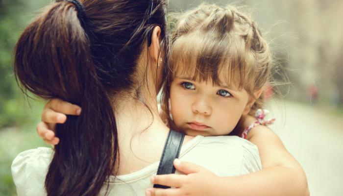 чувствително срамежливо ранимо дете