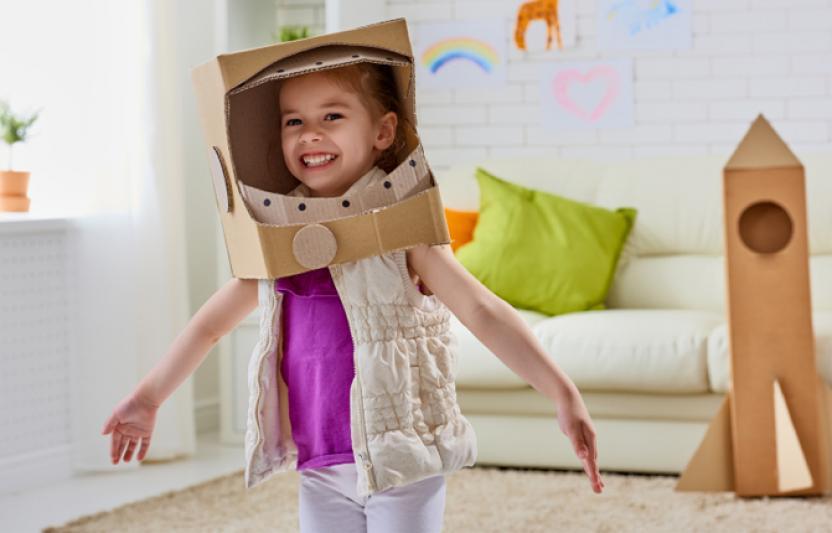 креативност при дете въображение