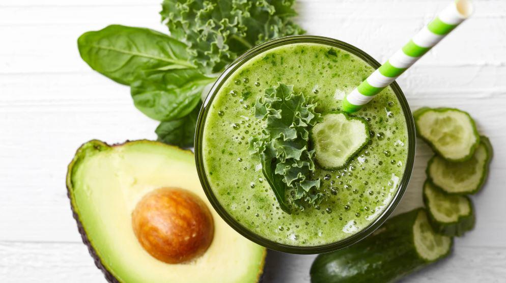 смути зеленолистни зеленчуци рецепти