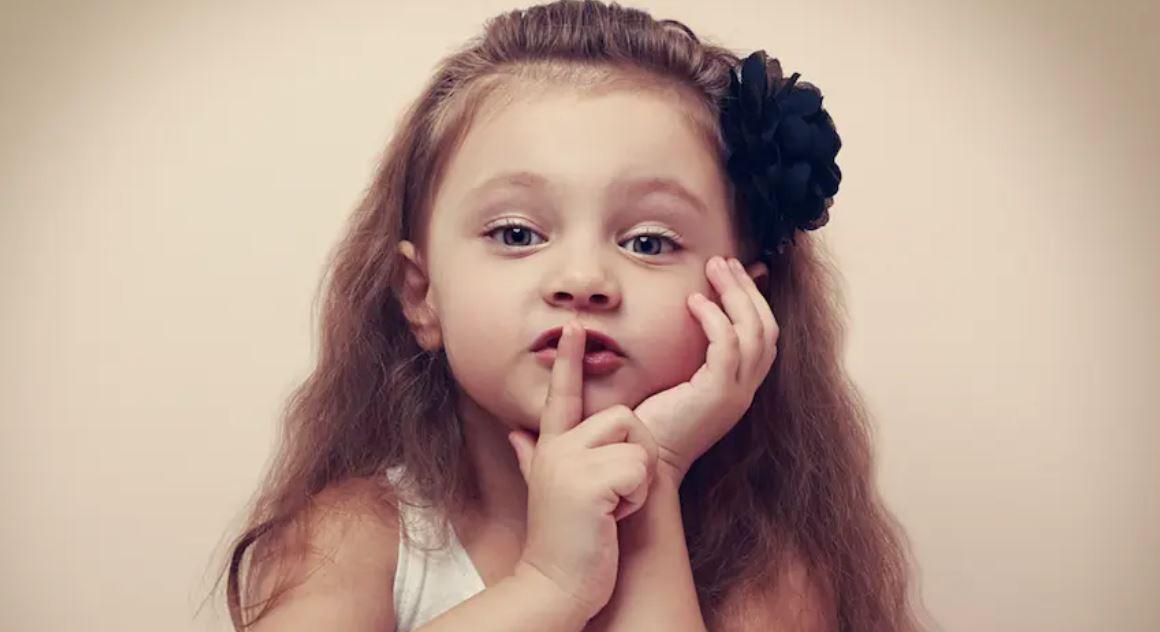 дете тайни споделяне