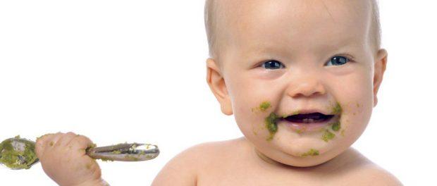 захранване на бебе схема